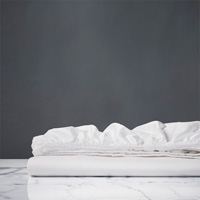 Marsden Fitted Sheet In White