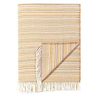 Strié Wheat Throw