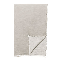 Delaveen 100% Cotton Throw In Sand