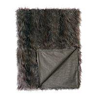 Indochine Faux Fur Throw