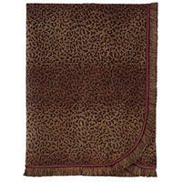 Congo Brown & Spice Throw