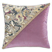 Valentina Color Block Decorative Pillow (Right)