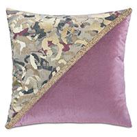 Valentina Color Block Decorative Pillow (Right)