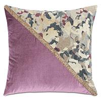 Valentina Color Block Decorative Pillow (Left)