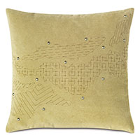 Zephyr Engraved Decorative Pillow