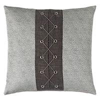 Zephyr Woven Trim Decorative Pillow