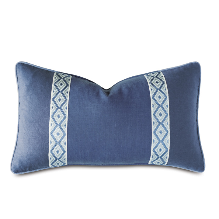 Capri Geometric Decorative Pillow
