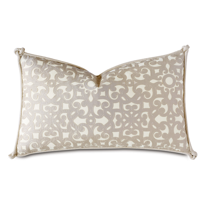 Dublin Applique Decorative Pillow
