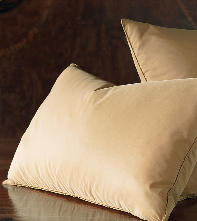 Freda Solid Taffeta - gold,taffeta,shiny,ruffled,bed skirt,pillow,euro sham,standard sham,decorative pillow,accent pillow,throw pillow,king sham,silky,solid,opulent,home decor,made in usa