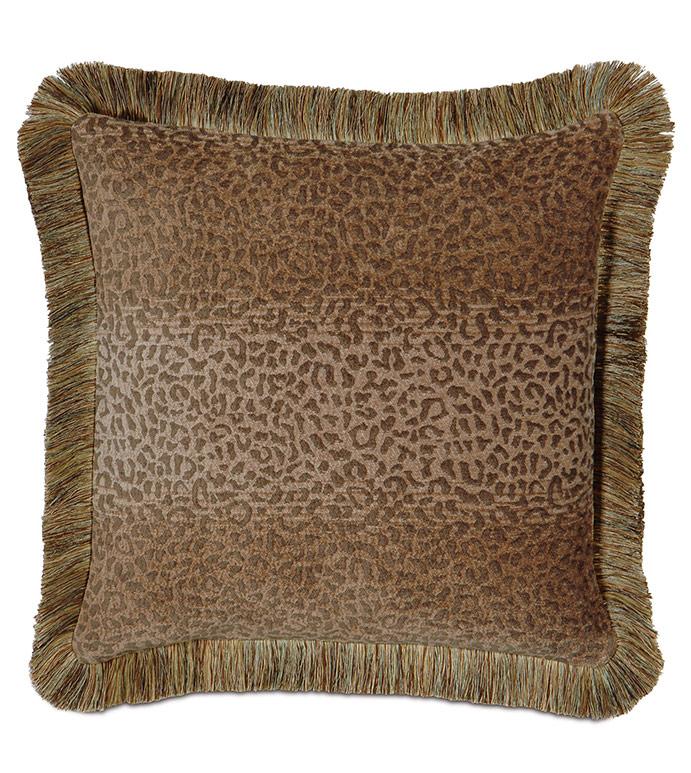 Congo Gold & Sage Pillow A - ,