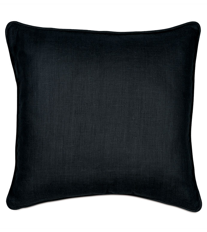 Resort Black Accent Pillow - ,