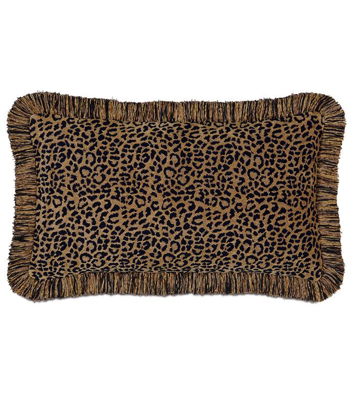 Congo Black & Gold Pillow B - ,