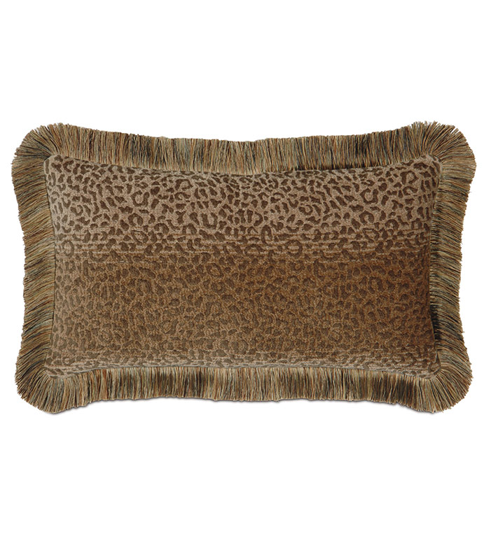 Congo Gold & Sage Pillow B - ,