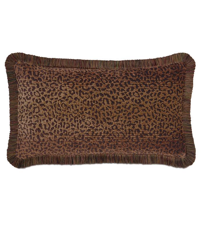 Congo Brown & Spice Pillow B - ,