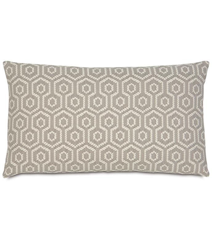 Gavin Smoke Accent Pillow - ,