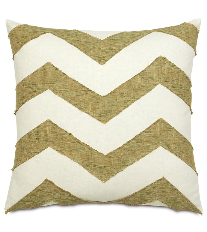 Broward Grass Accent Pillow - ,