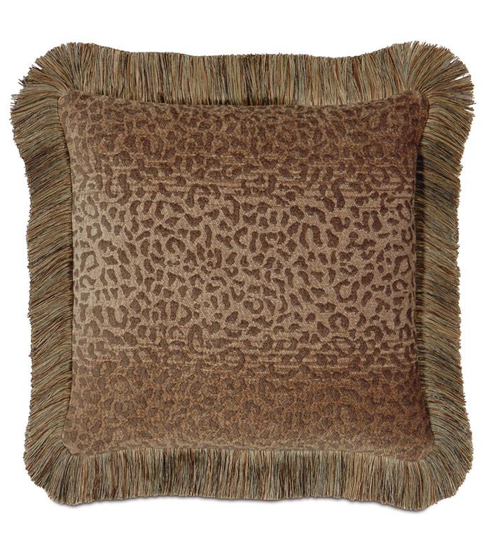 Congo Gold & Sage Pillow C - ,
