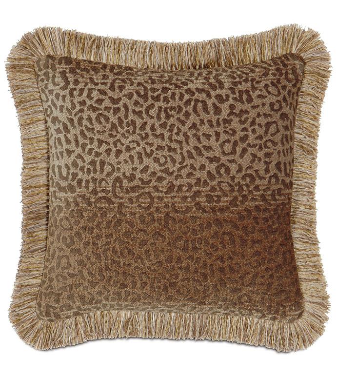 Congo Gold & Brown Pillow C - ,