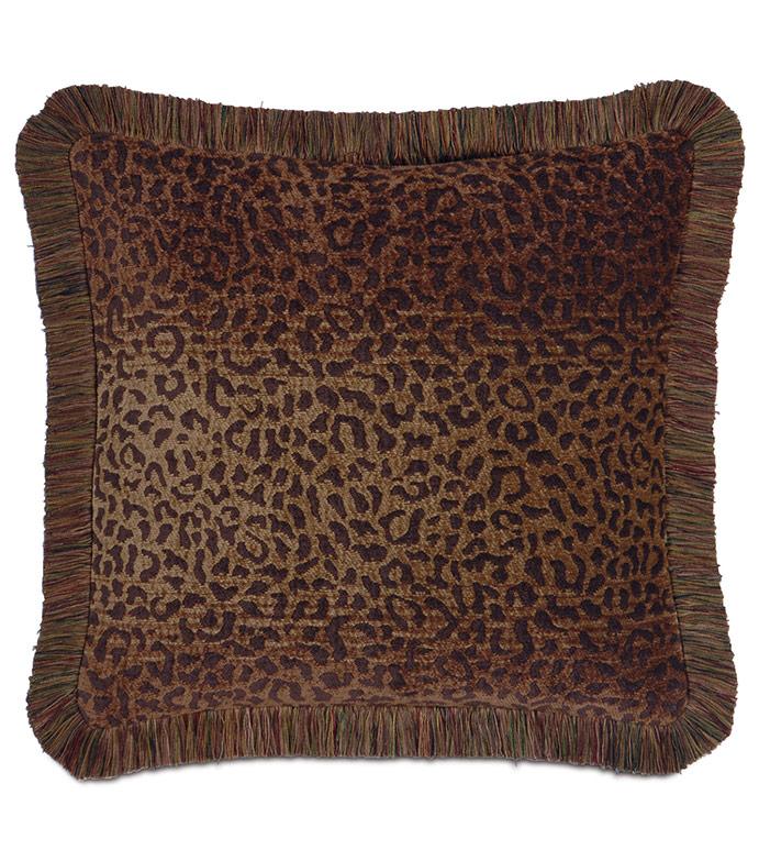 Congo Brown & Spice Pillow C - ,