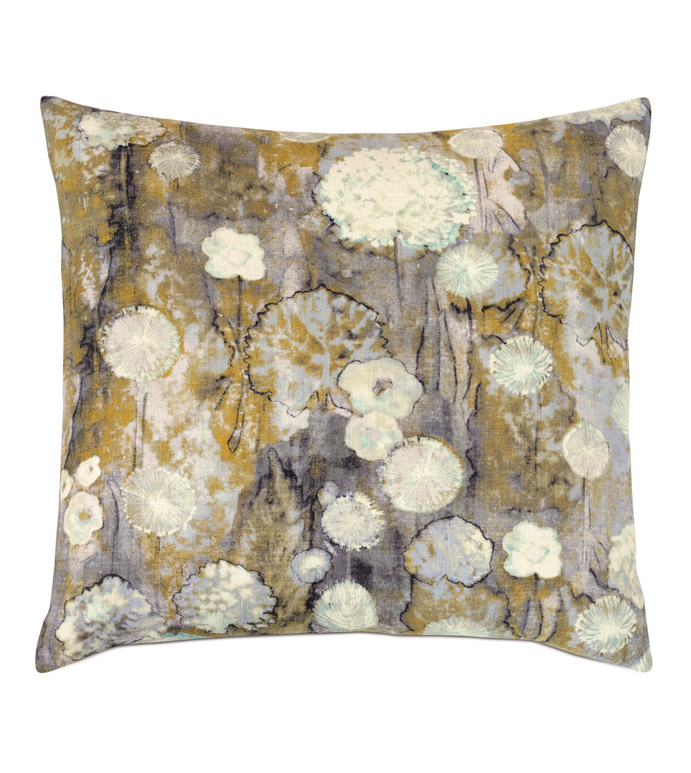 Evangeline Botanical Accent Pillow - ACCENT PILLOW,THROW PILLOW,ACCENT PILLOW,NICHE BY EASTERN ACCENTS,MULTICOLORED,CONTEMPORARY,LINEN,BOTANICAL,KNIFE EDGE FINISHING,