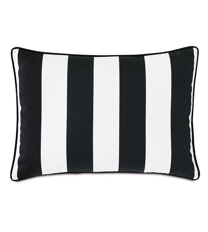 Kubo Vertical Stripe Decorative Pillow - ,RECTANGLE PILLOW,DECORATIVE PILLOW,VERTICAL STRIPE,STRIPED PILLOW,OUTDOOR PILLOW,OUTDOOR DECOR,MEDIUM PILLOW,
