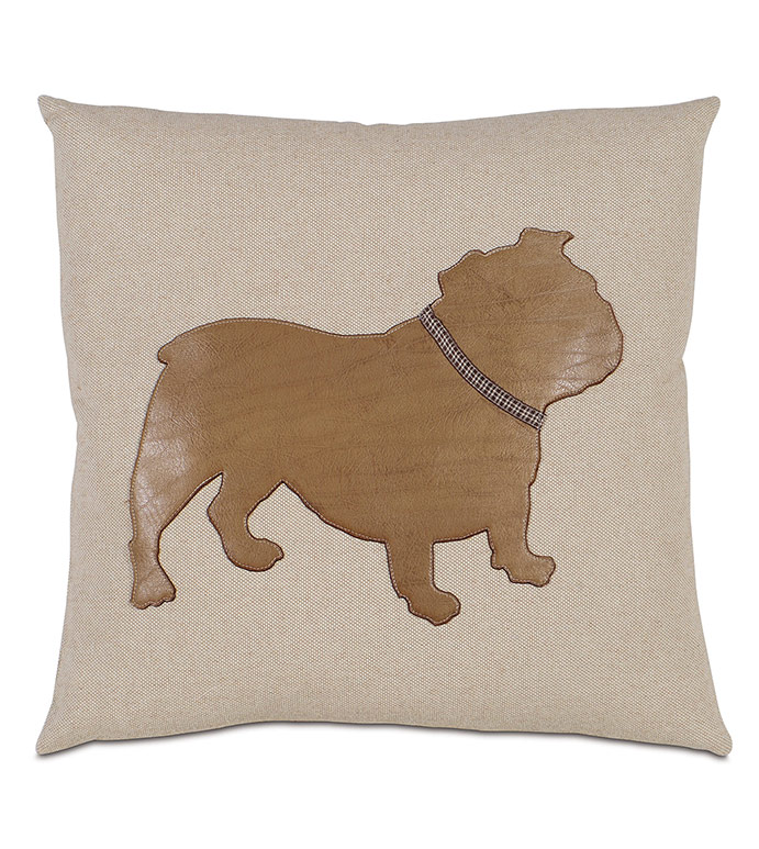 Marcus - ENGLISH BULLDOG, ENGLISH BULLDOG PILLOW, ENGLISH BULLDOG HOME ACCESSORIES, BULLDOG PILLOW