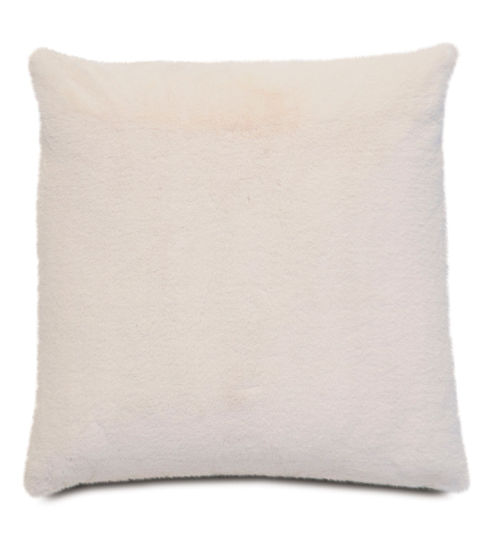 Fur Ivory Pillow - ,