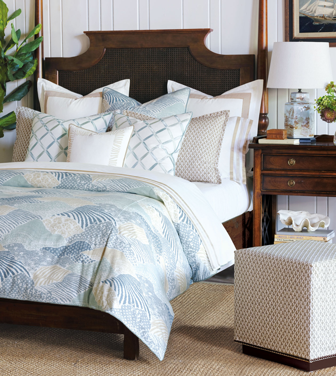 Brentwood Bedset - BARCLAY BUTERA,DESIGNER,COASTAL,NAUTICAL,TROPICAL,SPA,LUXURY BEDDING,BEDDING,FINE LINENS,BED SET,BEDDING COLLECTION,BEDDING ENSEMBLE