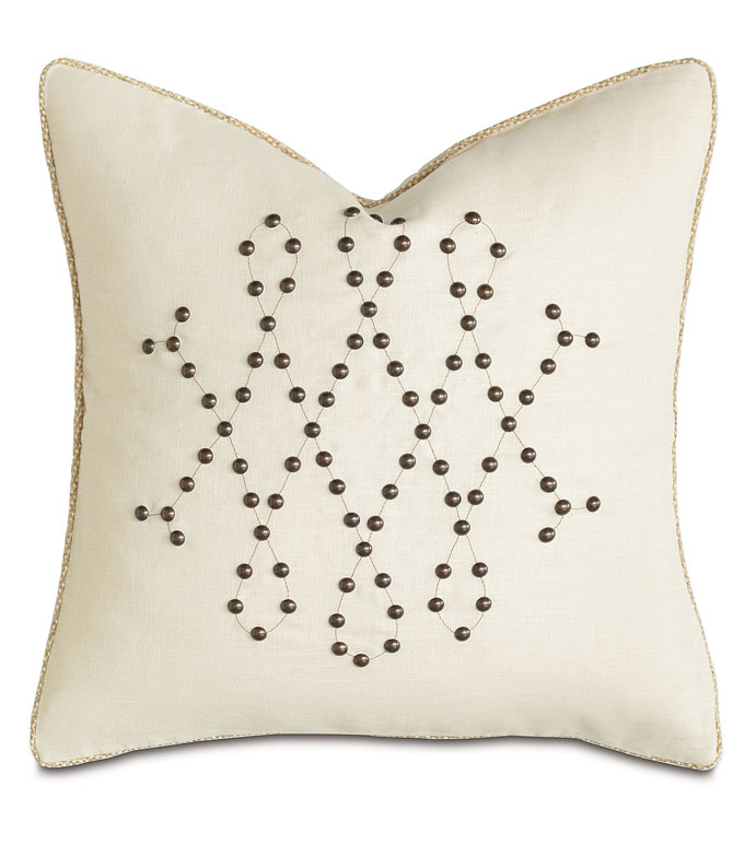 Breeze Pearl With Nailheads - ,