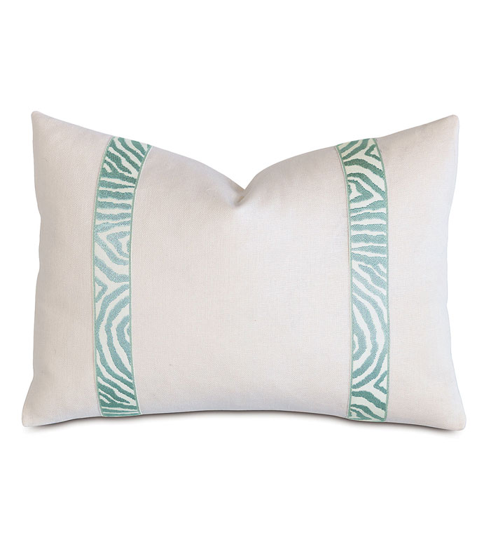 Filly White With Sea Border - ,