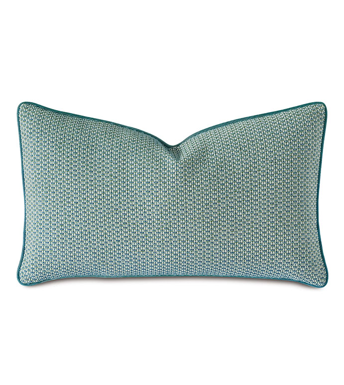 Twin Palms Textured Decorative Pillow Eastern Accents