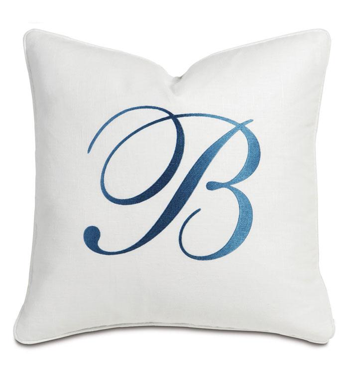 Breeze White With Monogram - ,