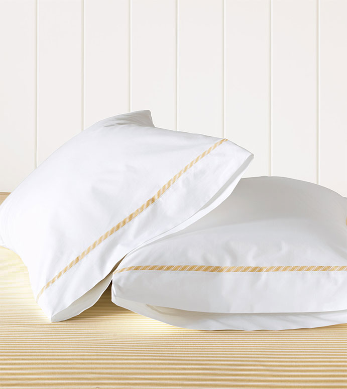 Newman Bisque Pillowcase - HAMPTON