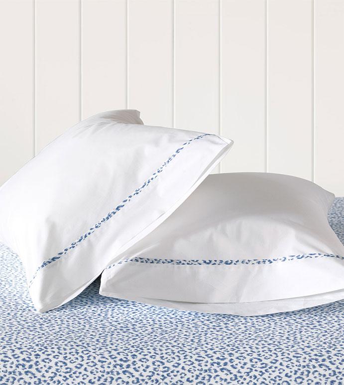 Tanner Indigo Pillowcase - HAMPTON