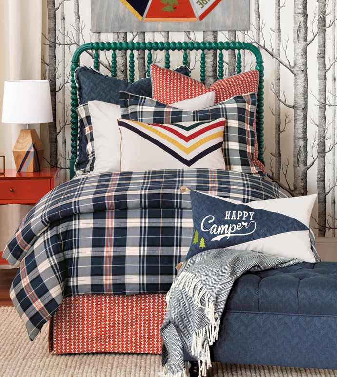 Scout Bedset - BEDDING,TOP OF BED,LUXURY LINENS,JUVENILE BEDDING,BEDSET,CUSTOM BEDDING,DUVET SET,CASUAL BEDDING,LINEN BEDDING,MALE BEDDING,HIGH END BEDDING,LUXURY BEDDING,MALE BEDDING