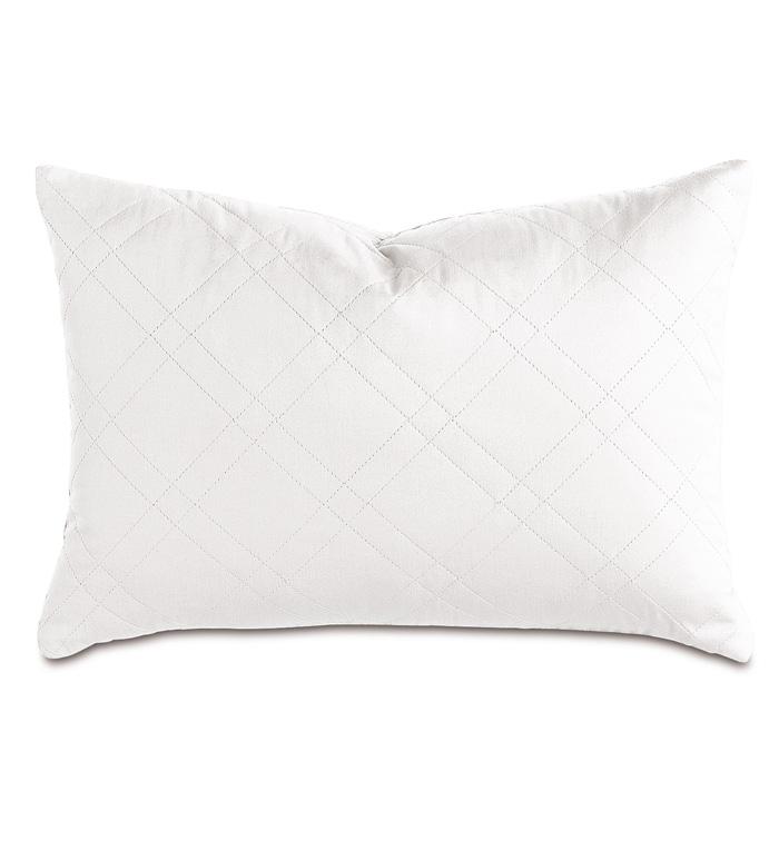 Coperta White Boudoir Sham - ,