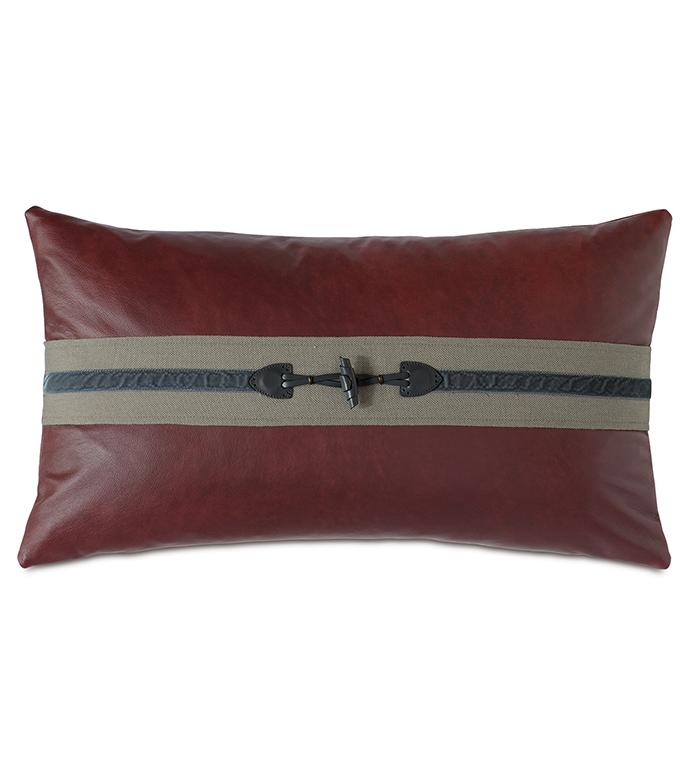 Kilbourn Toggle Decorative Pillow