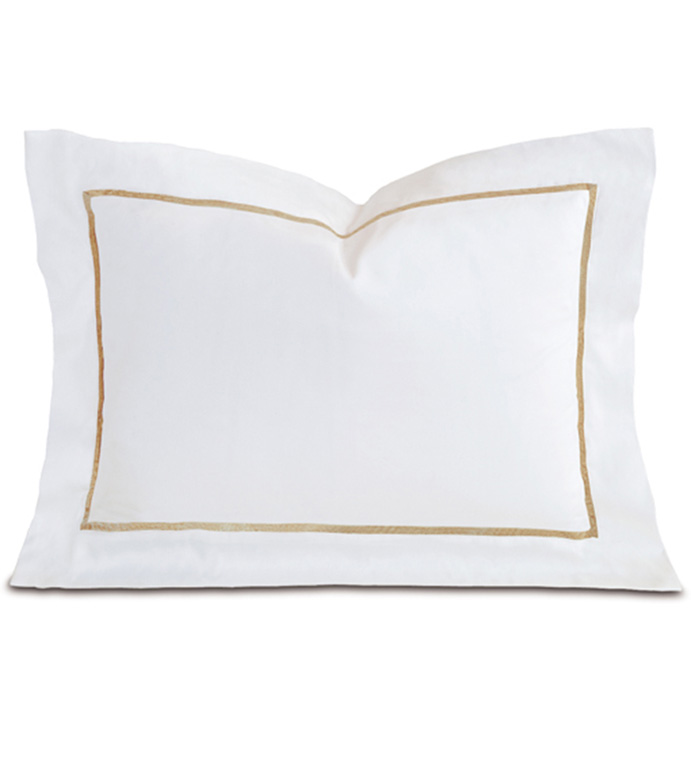 Linea Velvet Ribbon Boudoir In White & Sable - ,