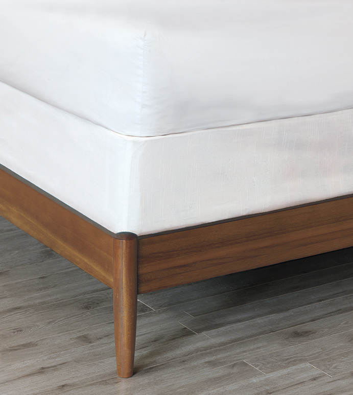 Baldwin Box Spring Cover - BOX SPRING COVER,WHITE,SOLID,CONTEMPORARY,TRANSITIONAL,BEDDING,ELASTIC,SNUG FIT,HIGH QUALITY FABRIC,COTTON,LUXURY,HOME DECOR,MODERN BEDDING,MATTRESS COVER,MODERN BEDDING,FITTED,