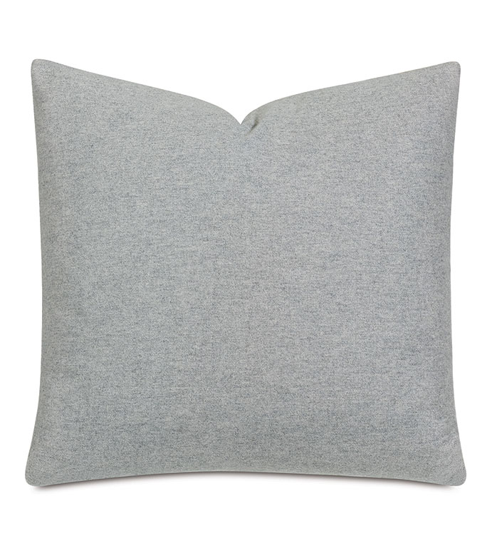 Vincent Textured Decorative Pillow In Heather - HEATHERED WOOL,WOOL,COZY,TEXTURE,WARM GRAY,GRAY,GREY,WARM GREY,NEUTRAL,VERSATILE,HYGGE,TEXTURED,PILLOW,ACCENT PILLOW,THROW PILLOW,DECORATIVE PILLOW,LUXURY,22X22,SQUARE,SOFA,BED,