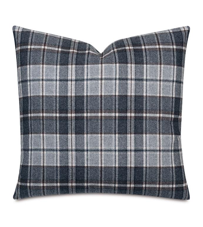 Elgin Slate Decorative Pillow - ,