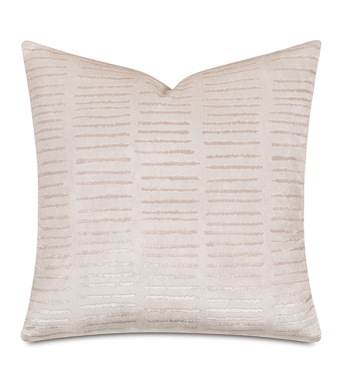 Ora Velvet Decorative Pillow - ,VELVET PILLOW,BLUSH VELVET,TEXTURED PILLOW,BLUSH PILLOW,PINK PILLOW,PINK VELVET,BLUSH DECOR,WOVEN VELVET,STRIPED PILLOW,PINK DECOR,LUXURY PILLOW,GIRLS BEDROOM,ROMANTIC DECOR,