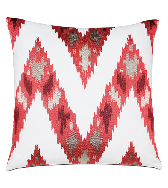 Nardo Crimson Decorative Pillow - ,