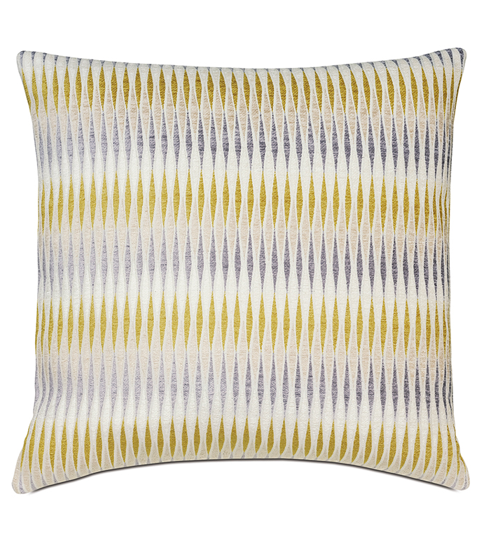 Stockton Citron Decorative Pillow - ,