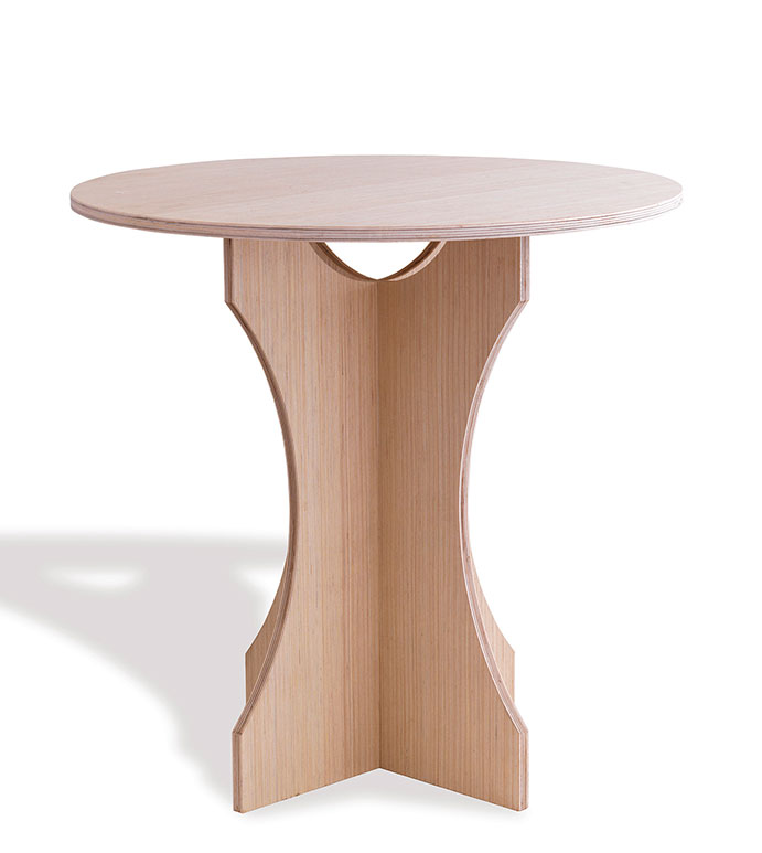 The Emma Table - accent table,wood table,side table,bedroom table,living room table,hallway table,bedside table,decorative table,designer table,celerie kemble table,easy to assemble table