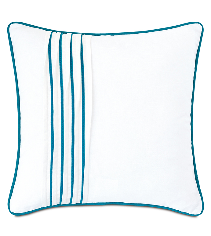 Clementine Pleated Decorative Pillow