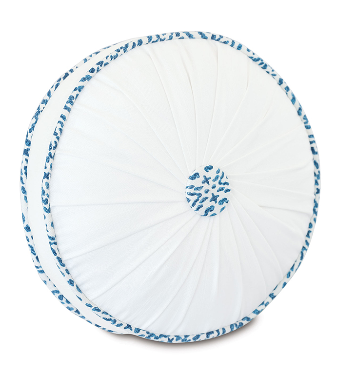 Clementine Round Decorative Pillow