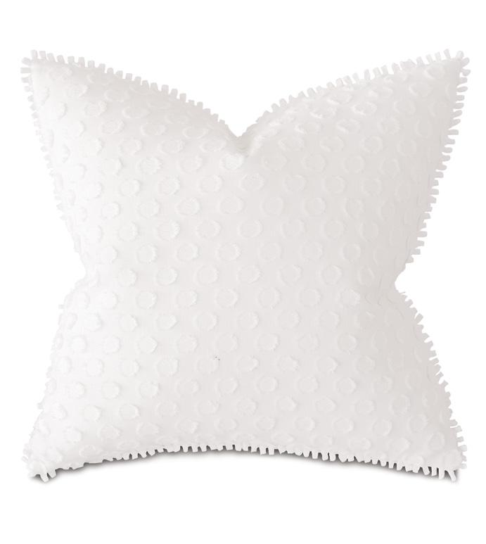 Paris Fil Coupe Decorative Pillow