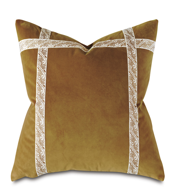 Dublin Velvet Decorative Pillow