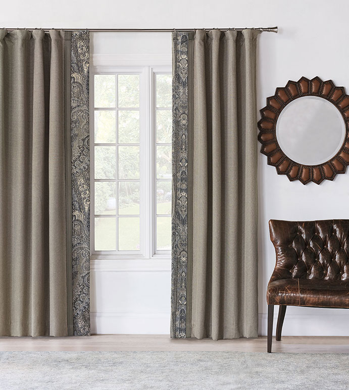 Wicklow Heather Curtain Panel Right